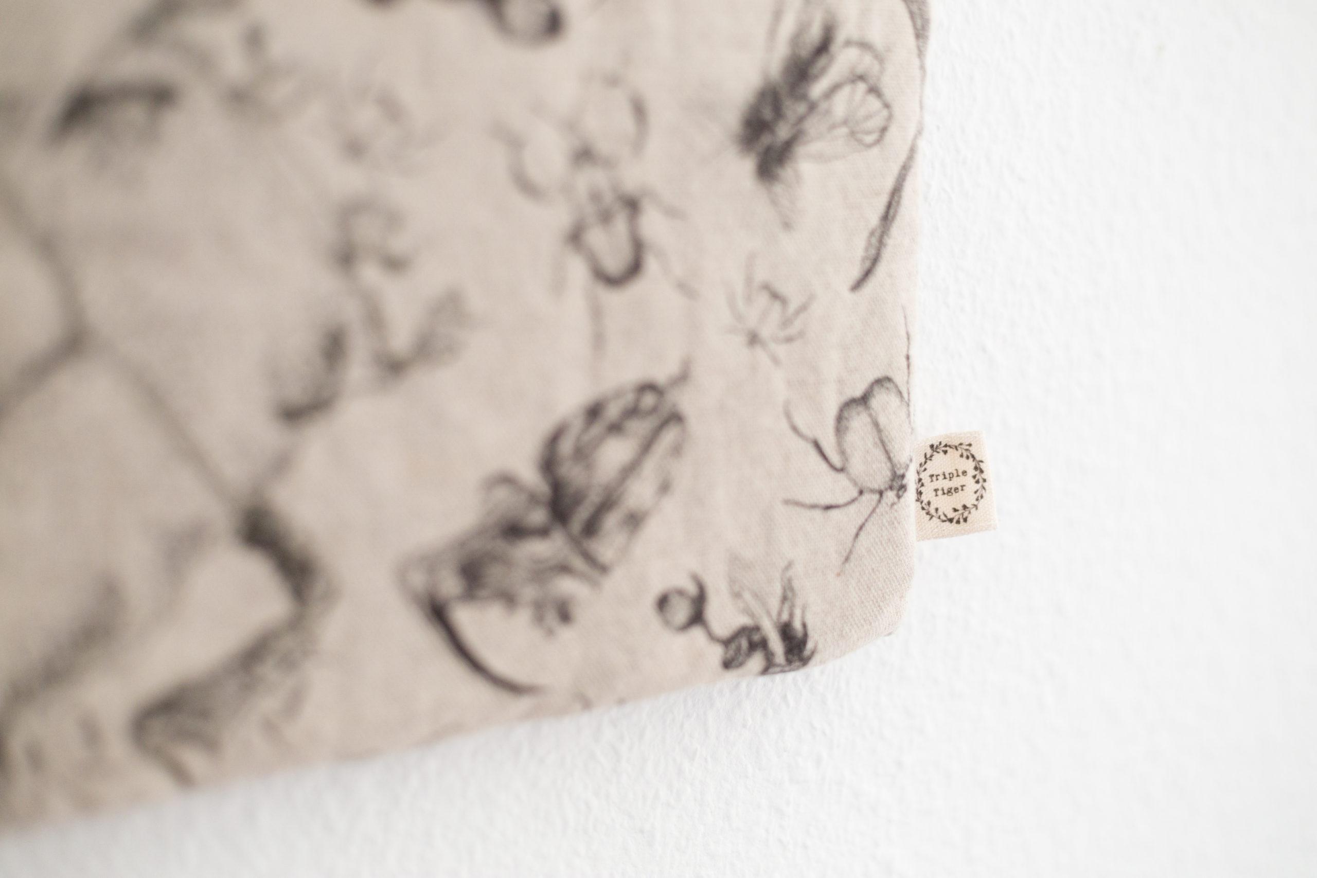 Pascale Dilger Design Day bag UK linen handmade