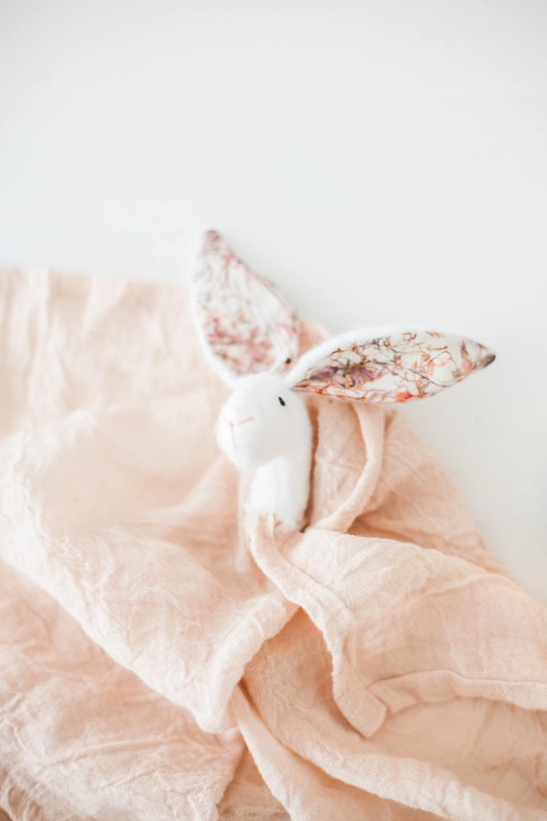 Lovely Pink Bunny Comforter