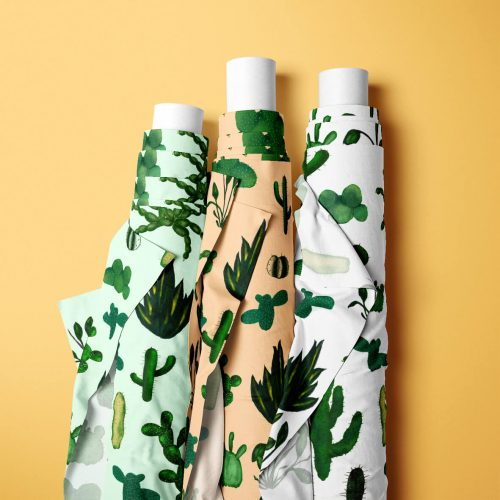 Beautiful fabric designs on sustainable fabric